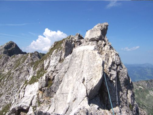 Klettersteig Hindelang : Hindelanger klettersteig