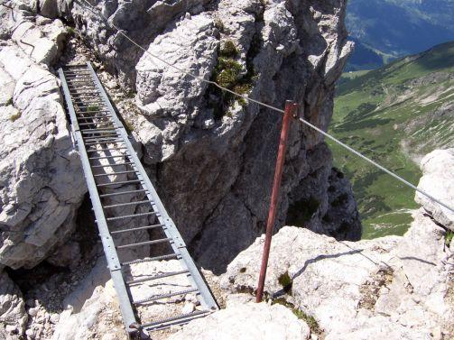 Klettersteig Mindelheimer : Mindelheimer klettersteig über die schafalpenköpfe